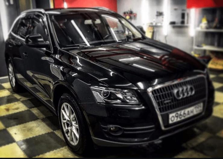 Замена линз Audi