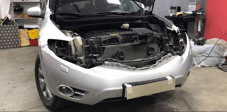 Замена линз Nissan Murano